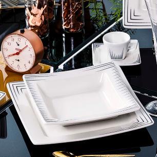 Aparelho de Jantar E Chá 20 Peças Nara Venue