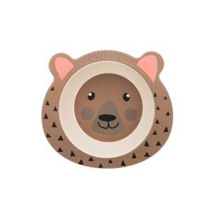 Conjunto Refeição Infantil 5 Peças Ursinho