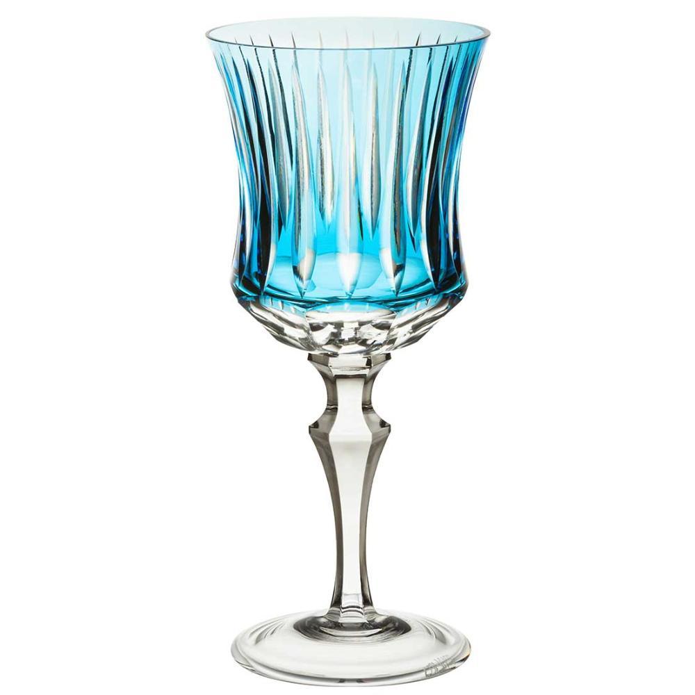 Taça de Cristal Strauss Água 400ml - Azul Claro - 119.101.150.016