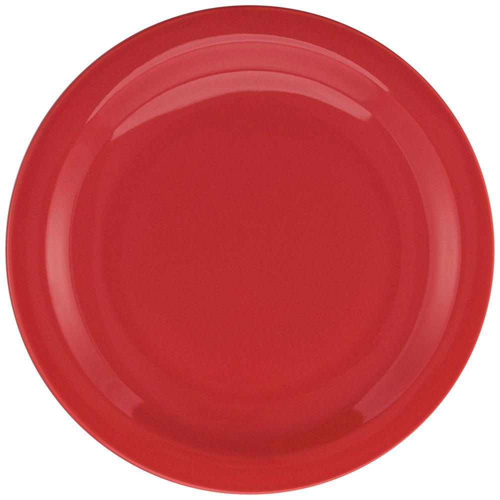 Conjunto de 6 Pratos Rasos 26cm Floreal Red
