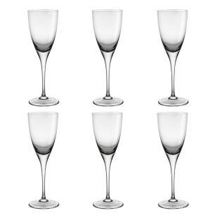 Jogo de 6 Taças em Cristal Strauss Vinho Branco 180ml - 103.603