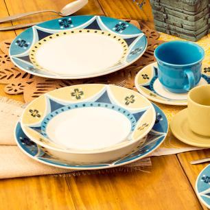 Aparelho de Jantar E Chá 20 Peças Actual Sintra