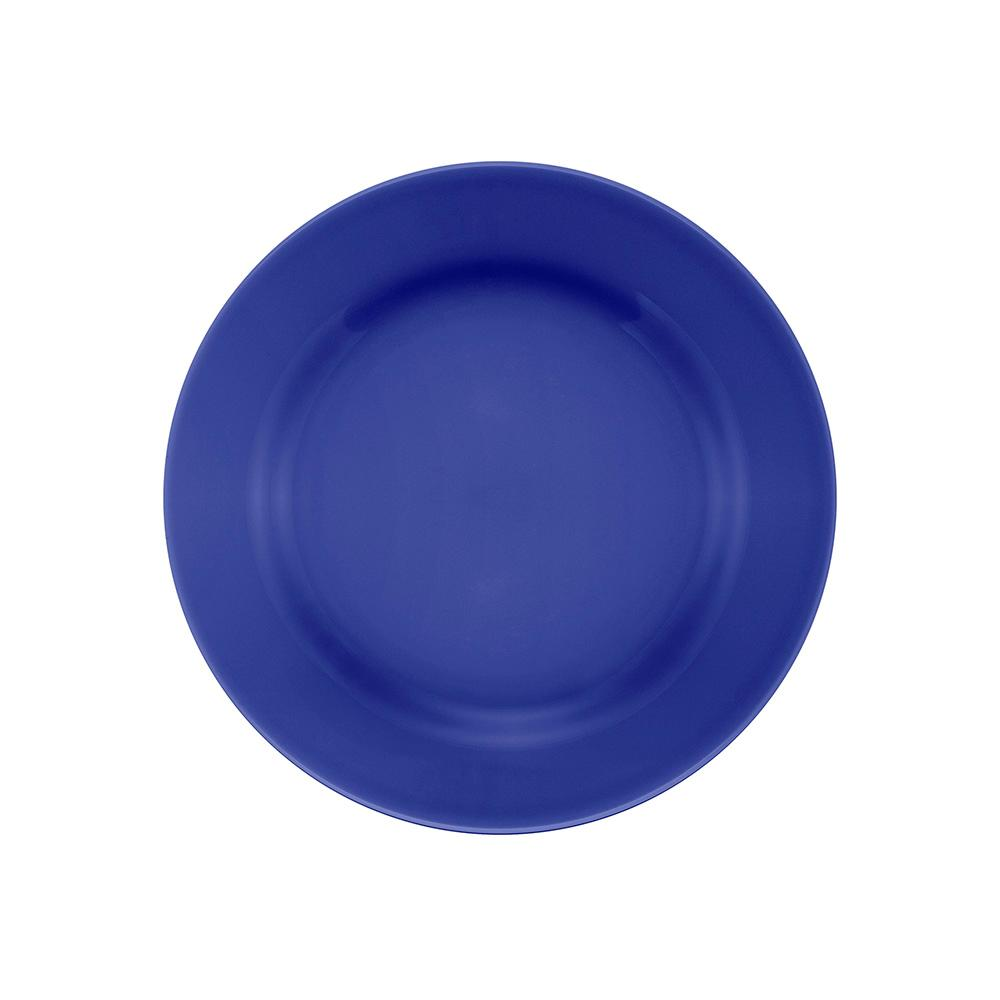 Conjunto de 6 Pratos Sobremesa 19cm Donna Azul