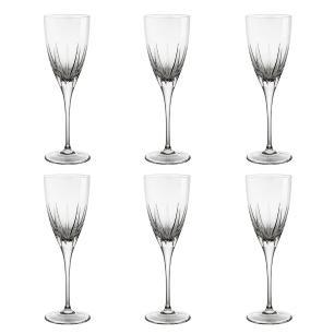Jogo de 6 Taças em Cristal Strauss Vinho Branco 180ml - 103.603.153