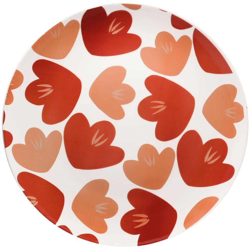 Conjunto de 6 Pratos Rasos 26Cm Unni Love