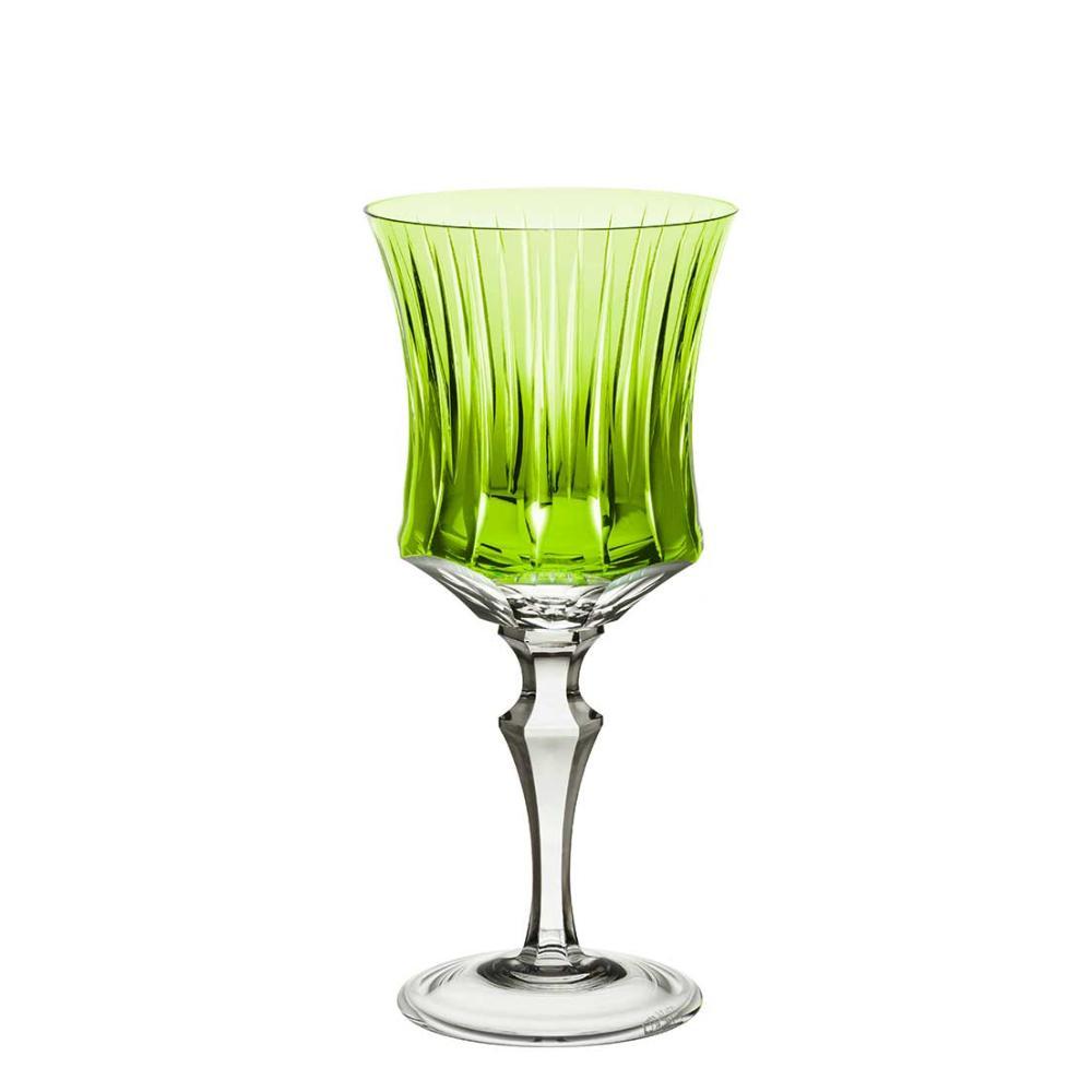 Taça de Cristal Strauss Água 400ml - Verde Claro - 119.101.150.011
