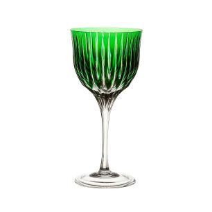 Taça de Cristal Strauss Vinho Branco 330ml - Verde Escuro - 225.103.150.014