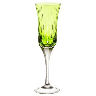 Taça de Cristal Strauss Champagne 190ml - Verde Claro - 225.107.152.011
