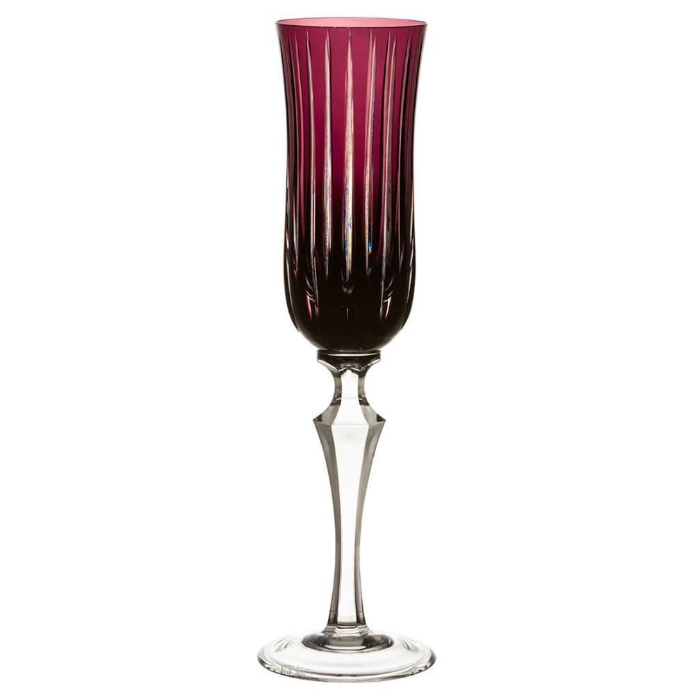 Taça de Cristal Strauss Champagne 240ml - Ametista - 237.107.150.013