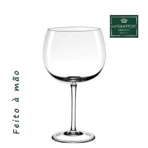 Jogo de 6 Taças em Cristal Gin 660ml - Selo Prata Imperattore - 104.686