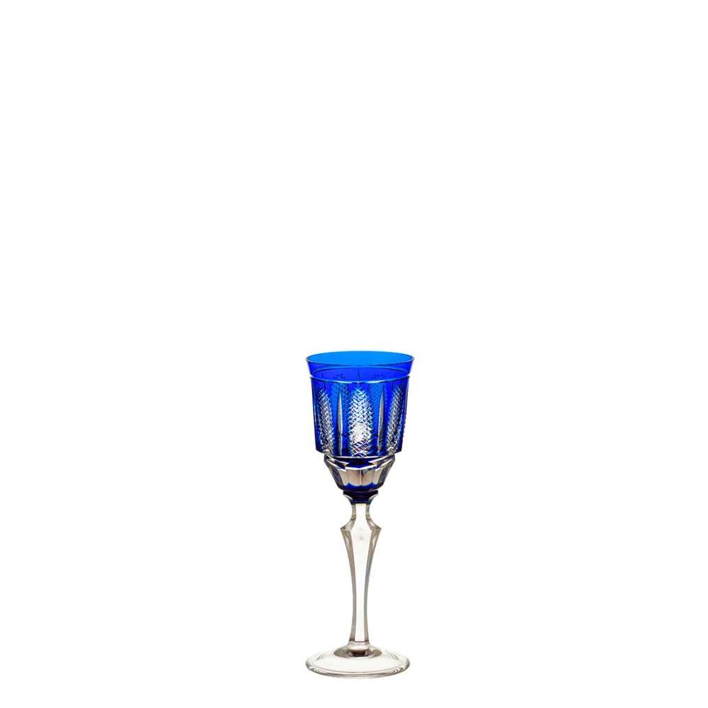 Taça de Cristal Strauss Licor 110ml - Azul Escuro - 237.105.151.012