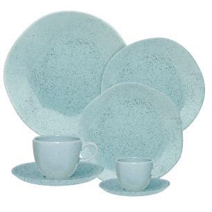 Aparelho de Jantar Chá E Café 42 Peças Ryo Blue Bay