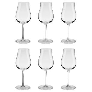 Conjunto de 6 Taças Para Vinho Tinto Classic 245