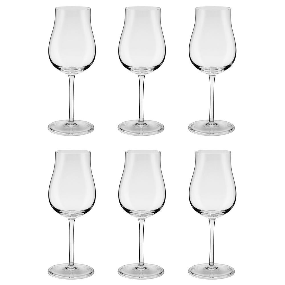 Jogo de 6 Taças de Cristal Vinho Tinto 390ml Classic