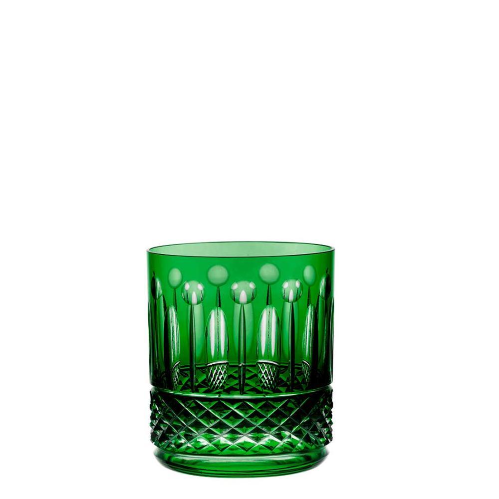 Copo de Cristal Strauss On The Rocks 430ml - Verde Escuro - 105.160.069.014