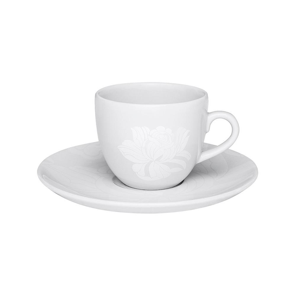Aparelho de Jantar Chá E Café 42 Peças Coup Blanc