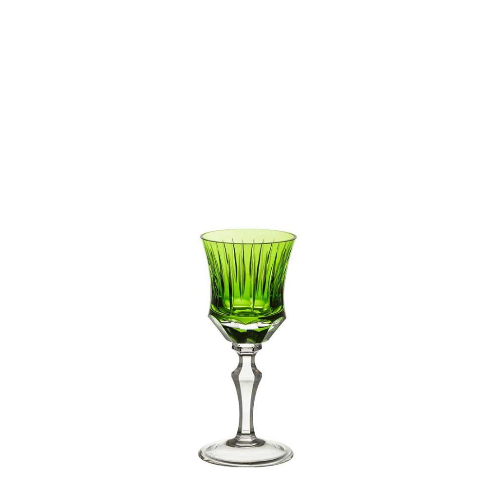 Taça de Cristal Strauss Licor 80ml - Verde Claro - 119.105.150.011