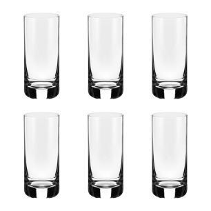 Jogo de 6 Copos em Cristal Long Drink 395ml - Selo Prata Imperattore - 105.642