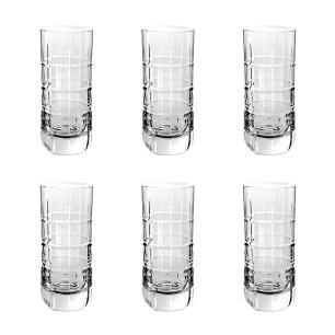 Jogo de 6 Copos em Cristal Strauss Cerveja 330ml - 105.614.088