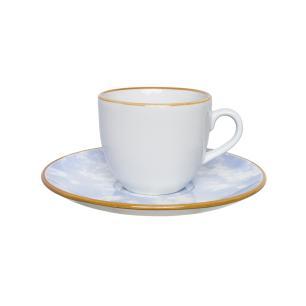Aparelho de Jantar Chá E Café 42 Peças Coup Celeste
