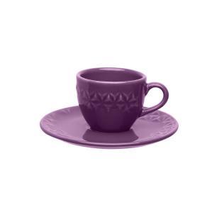 Aparelho de Jantar Chá e Café 42 Peças Mia Estelar