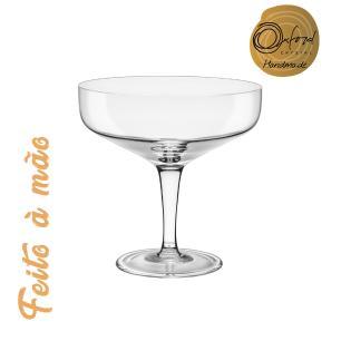Jogo de 6 Taças de Cristal Espumante Vintage 250ml Classic