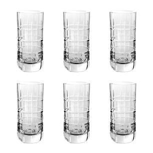 Jogo de 6 Copos em Cristal Strauss Long Drink 395ml - 105.642.088
