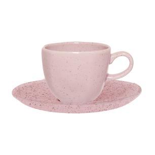 Aparelho de Jantar E Chá 20 Peças Ryo Pink Sand
