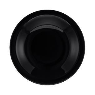 Conjunto de 6 Pratos Fundos 23cm Floreal Black