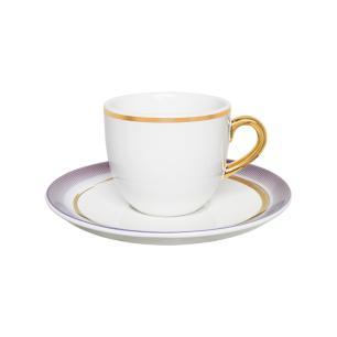 Aparelho de Jantar Chá E Café 42 Peças Coup Glam