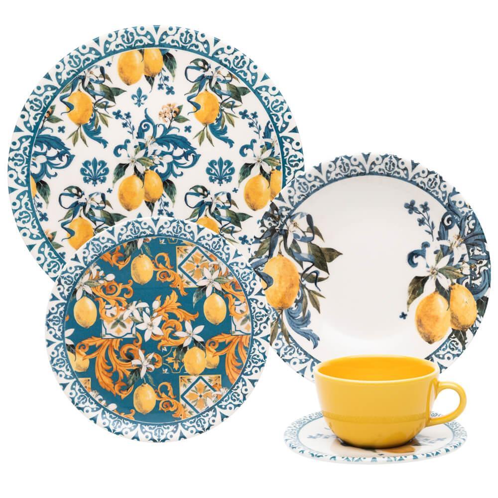 Aparelho de Jantar e Chá 20 peças Unni Siciliano
