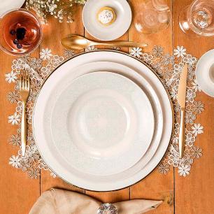 Aparelho de Jantar E Chá 30 Peças Flamingo Dress