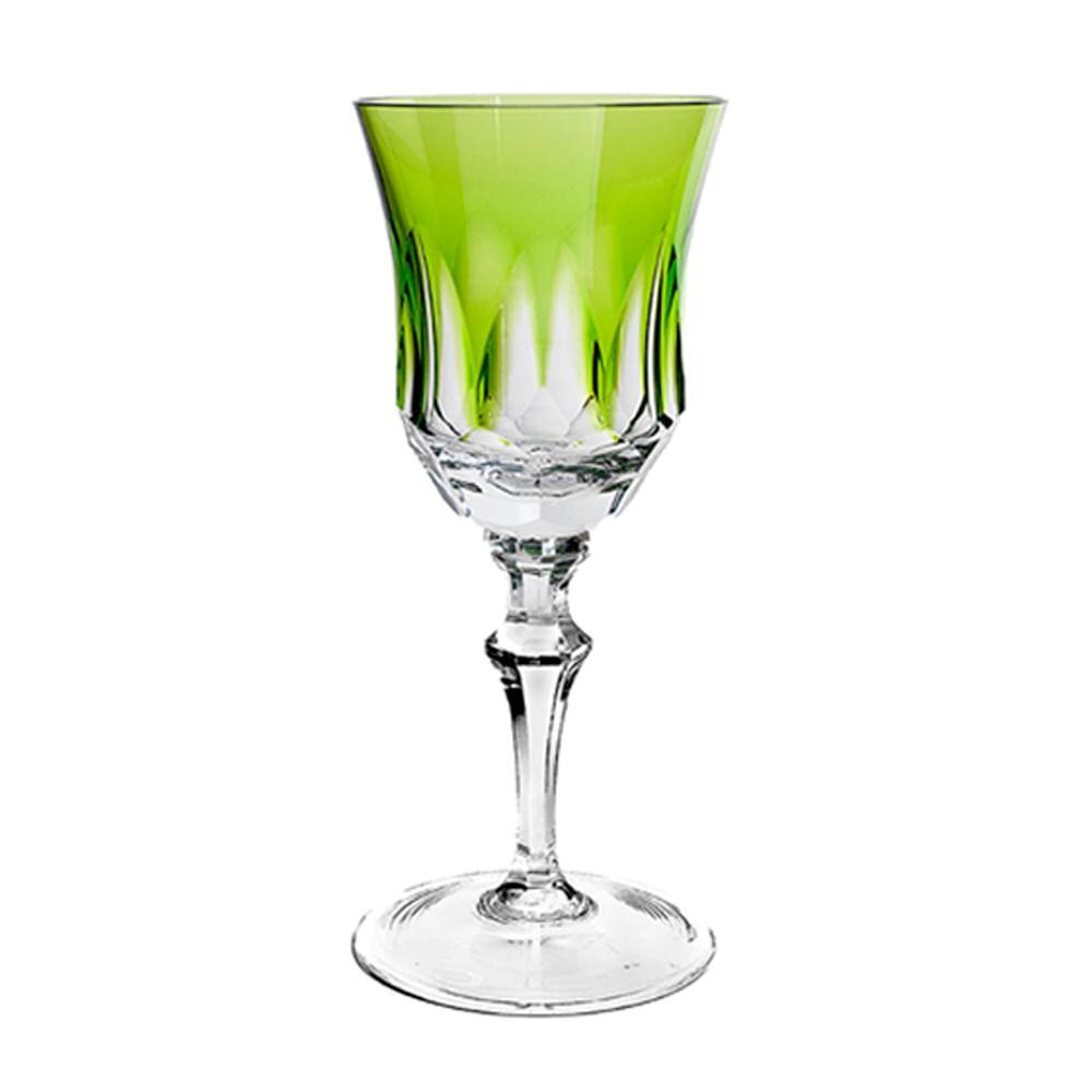 Taça de Cristal Strauss Vinho Branco 330ml - Verde Claro - 119.103.055.011