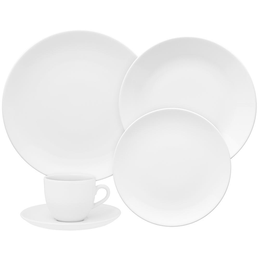 Aparelho de Jantar E Chá 30 Peças Coup White