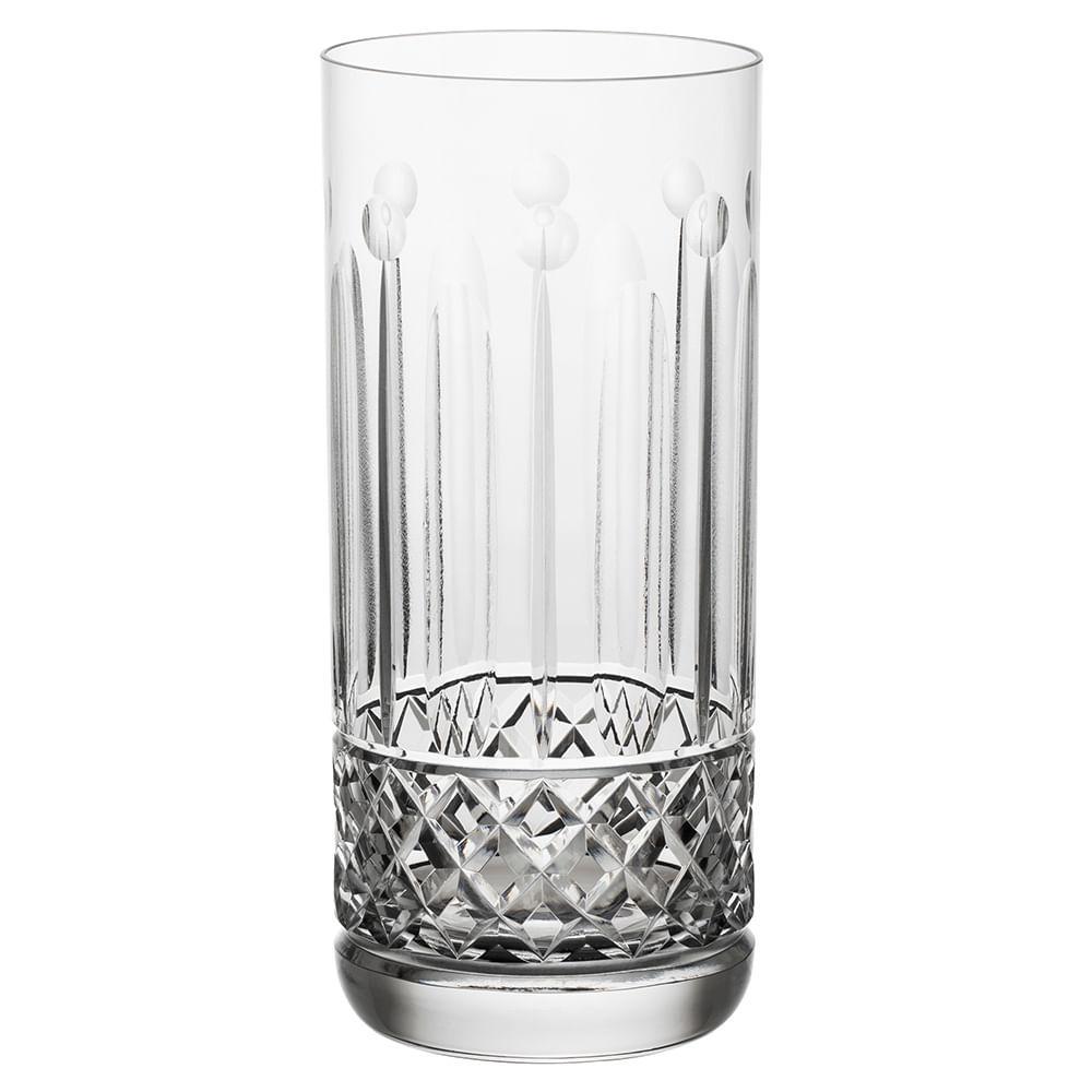 Jogo de 6 Copos em Cristal Strauss Long Drink 395ml - 105.642.069