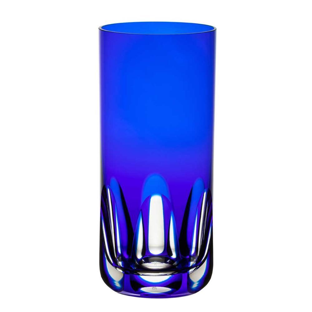 Copo de Cristal Strauss Long Drink 395ml - Azul Escuro - 105.142.065.012