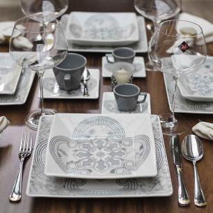 Aparelho de Jantar E Chá 30 Peças Quartier Pantheon