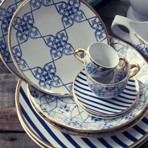 Aparelho de Jantar E Chá 30 Peças Coup Lusitana