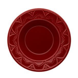 Aparelho de Jantar E Chá 30 Peças Serena Veludo