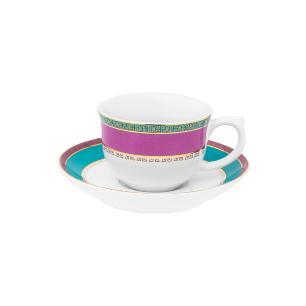 Aparelho de Jantar Chá/Café 42 Pçs Flamingo Joia Brasileira