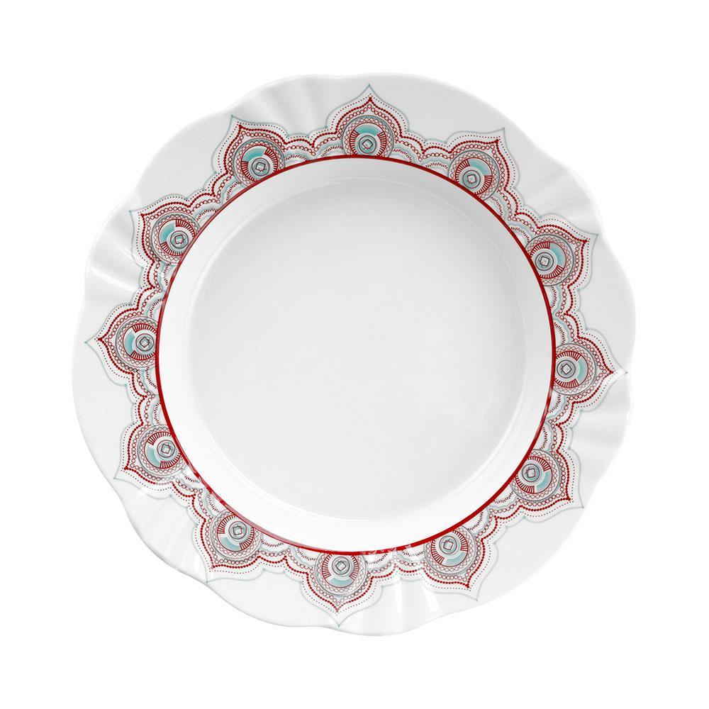 Aparelho de Jantar E Chá 30 Peças Soleil Talismã