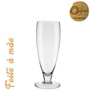 Conjunto de 6 Taças de Cristal Cerveja Longa 300ml Classic