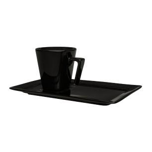 Aparelho de Jantar E Chá 30 Peças Plateau Black