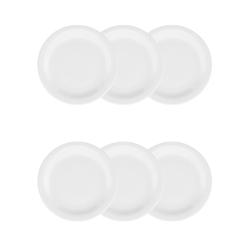 Conjunto de 6 Pratos Sobremesa Pro 20cm