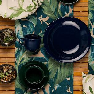 Aparelho de Jantar E Chá 30 Peças Floreal Denim