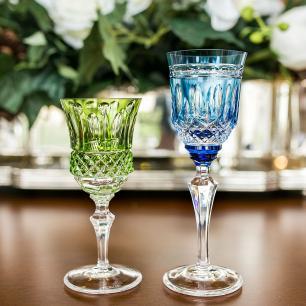 Taça de Cristal Strauss Licor 110ml - Azul Claro - 237.105.068.016