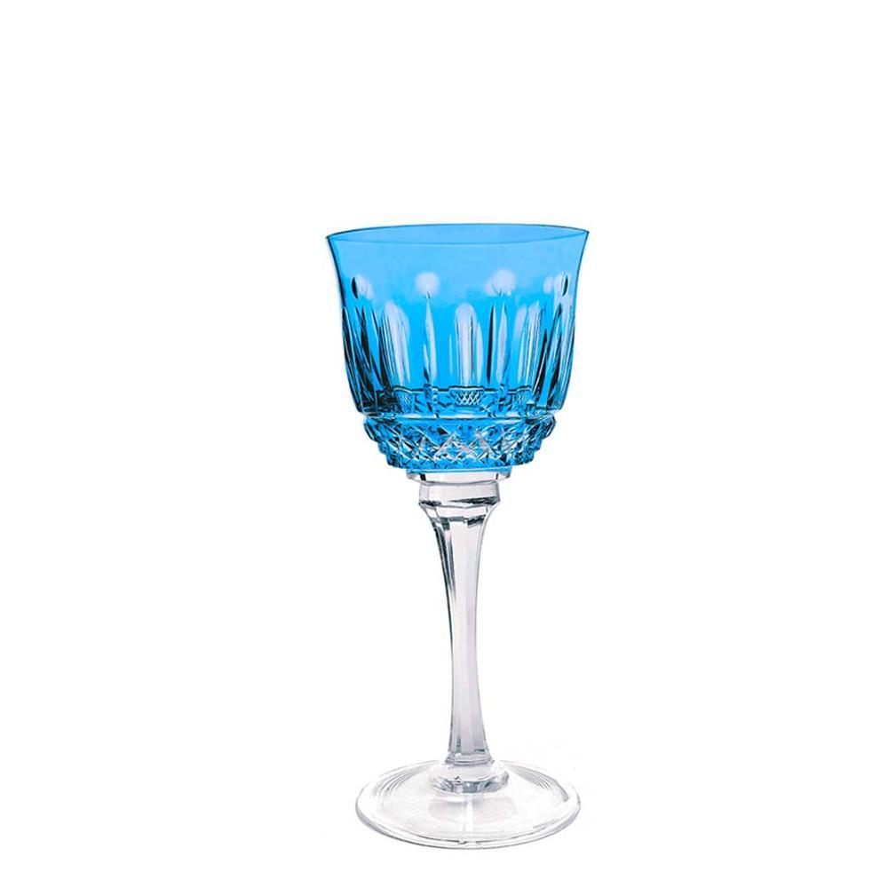Taça de Cristal Strauss Vinho Branco 330ml - Azul Claro - 225.103.069.016