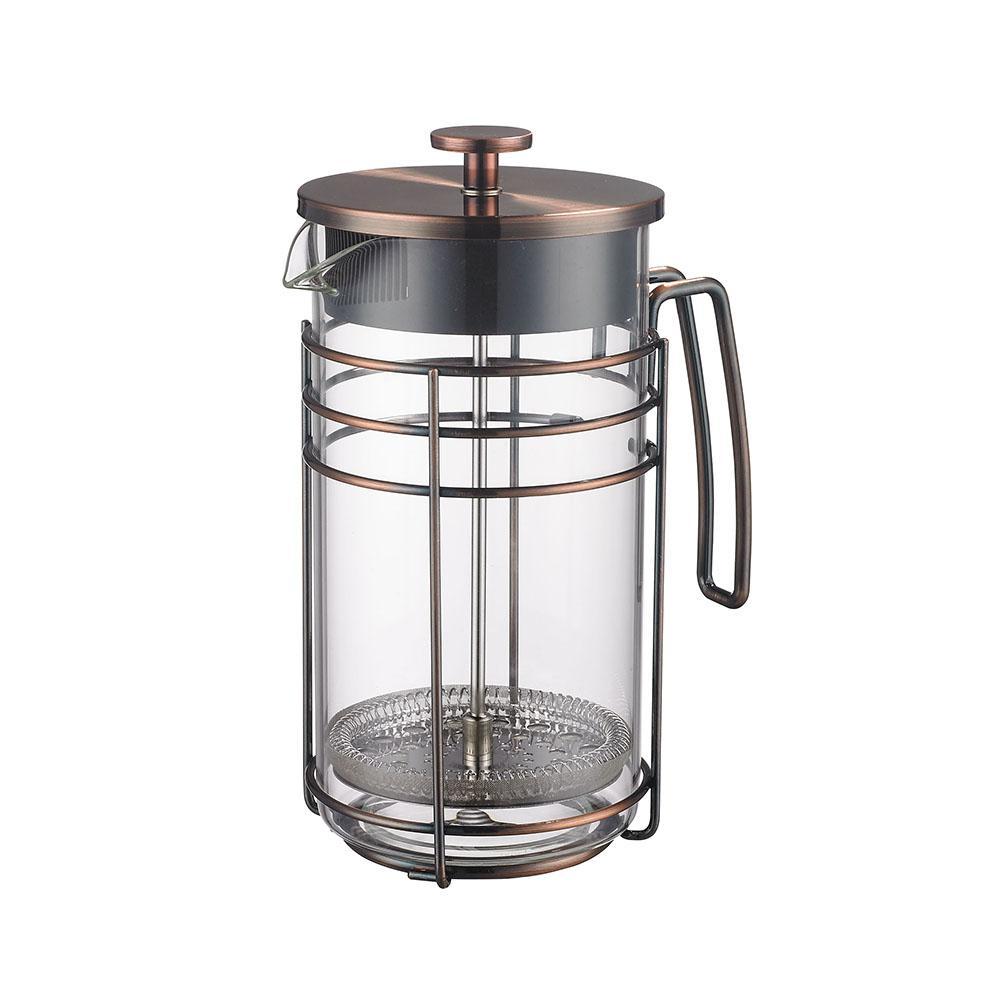 Cafeteira Francesa Em Vidro E Aço Inox 1000ml