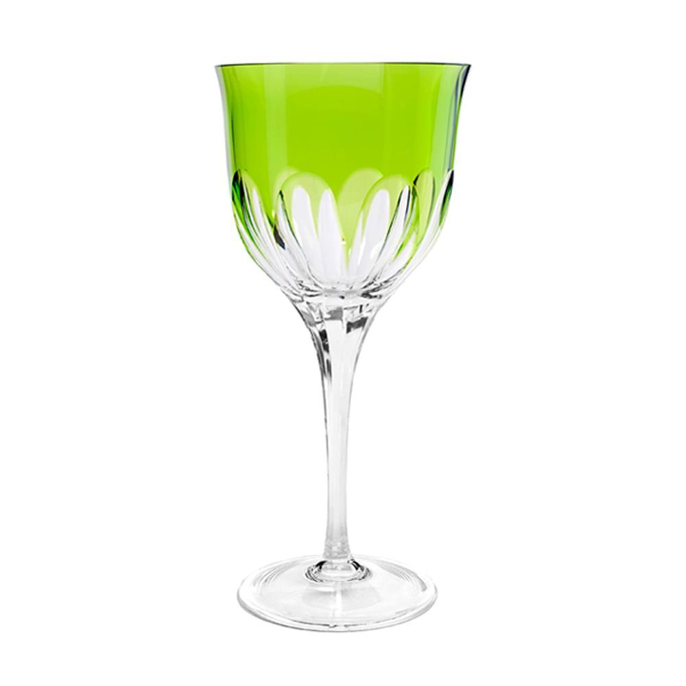 Taça de Cristal Strauss Água 520ml - Verde Claro - 225.101.045.011
