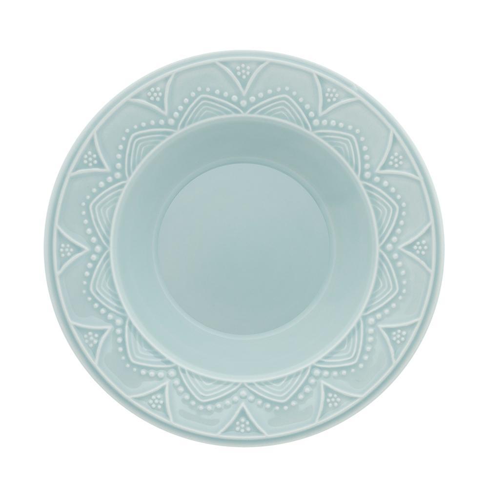 Aparelho de Jantar E Chá 30 Pecas Serena Essence